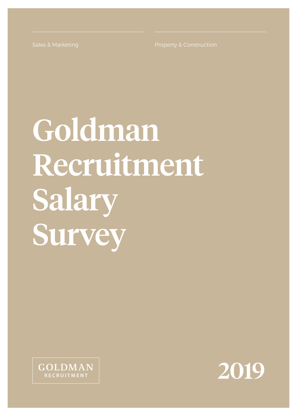 Sales & Marketing Salary Survey 2019
